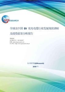 全球及中国EV充电电缆行业发展现状调研及投资前景分析报告