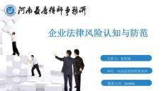 企业法律风险培训ppt精选文档