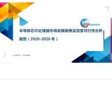 半导体芯片处理器市场发展前景及投资可行性分析报告(2020-2026年)