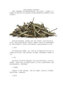 白茶的产地在哪里?种类有哪些?