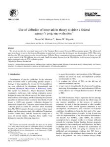 創新擴散理論與技術接受模型