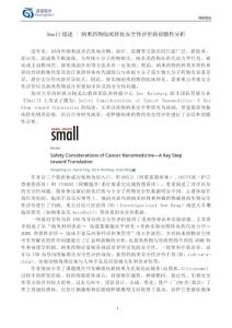 Small综述-纳米药物临床转化安全性评价的前瞻性分析