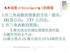 【高中数学课件】三角函数图象变换(1)ppt课件