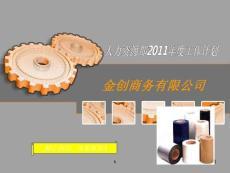 某公司人力资源部2011年度工作计划