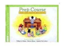 Alfreds Basic Piano Library - Prep Course - For The Young Beginner - Lesson Book - Level C