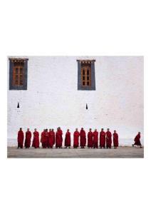 2011年6月1日 Monks, Bhutan