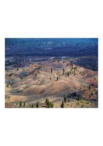 2011年4月20号 Painted Dunes, Lassen Volcanic National Park