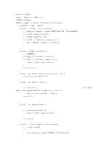 java解决矩阵算法