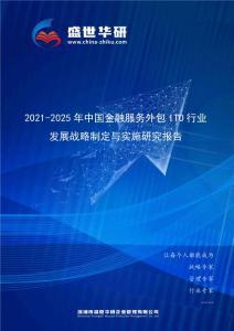 2021-2025年中国金融服务外包ITO行业发展战略制定与实施研究报告