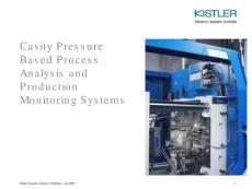 Kistler Systems for Injection Molding