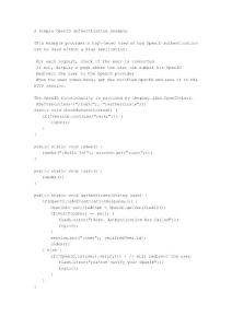play framwork框架手册