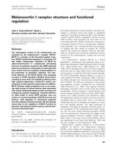Melanocortin-1 Receptor(MC1R)