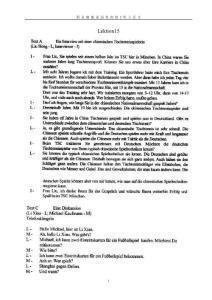 新求精德语初级2听力原文