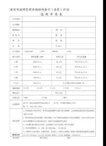 深圳市波顿管理咨询培训套卡(会员)计划