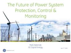 GE SMART GRID-智能电网资料--GE Power System