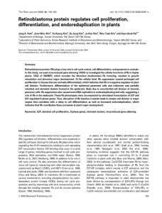 Retinoblastoma protein r..