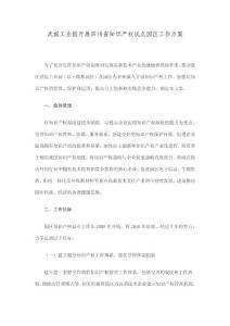 武侯工业园开展四川省知识产权试点园区工作方案