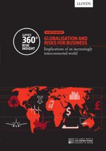 劳合:全球化风险