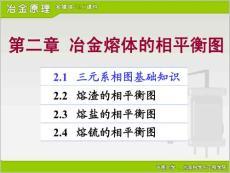 冶金原理課件(中南大學)4697786984