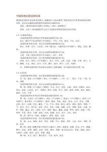 中国各地抗震设防标准...
