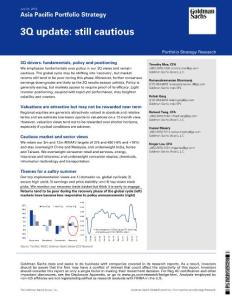 20120725-Goldman Sachs-Asia Pacific Portfolio Strategy:3Q update: still cautio
