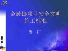 -金螳螂安全文明施工标准(唐江)