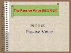 ThePassive Voice 被动语态的构成与用法