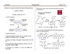 高等有机化学课件合集(3-4)(哈佛大学2011新版)