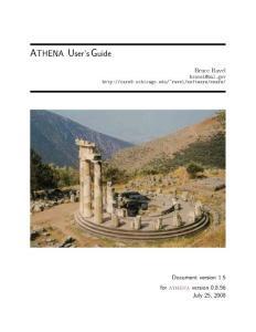 Athena User´s Guide