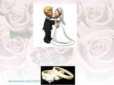 婚禮日PPT模板