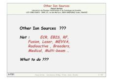 Other ion sources - Ions for the industry 3 - CERN Accelerator School