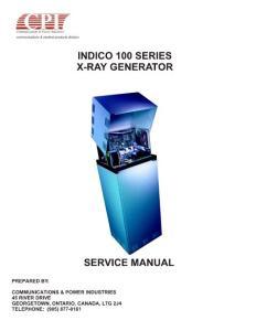 [电子/电路]CPI 高压发生器手册INDICO100