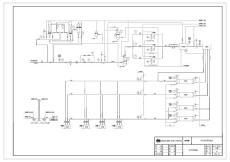 CNG标准站工艺流程图