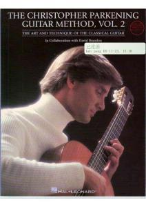 《帕肯宁的古典吉他教学书籍2》