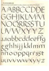 英文字母字帖