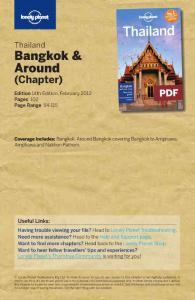 孤独星球Lonely Planet泰国Thailand最新版 曼谷