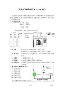 瓦里安( Varian)氣相色譜儀 cp-3800中文說明書