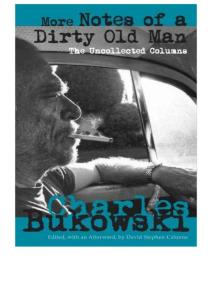 Charles Bukowski - More Notes of a Dirty Old Man- The Uncollected Columns (epub)