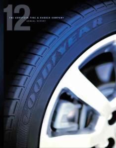美國固特異輪胎橡膠公司 2012年度報告 英文版
