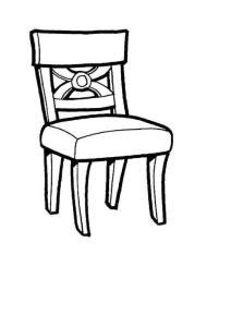 椅子图案素材