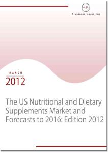 US Nutritional and Dietary Supplements Market and Forecast to 2016