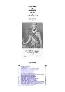 英语读物 美洲英格兰England in America 1580-1652