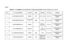 2011年广东省LED路灯及光..