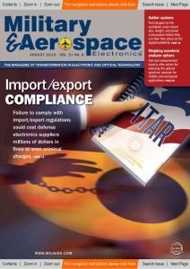 【美国军事航空电子专业杂志】 2010-08 英文原版