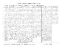 四川省雁江区农民科技培训..