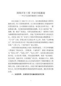 2012年公司反腐倡廉建设汇报总结材料