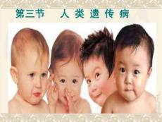 5.3《人类遗传病》