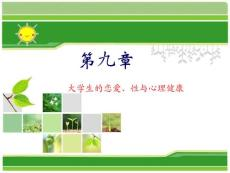 大学生恋爱与心理健康2011-1