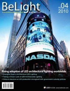 belight第四期杂志 崛起中的LED建筑照..