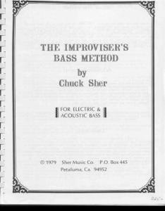 The Improviser´s Bass Method by Chuck Sher(2-1)